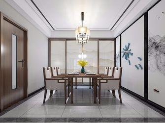 90平米一室两厅中式风格餐厅设计图