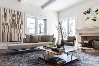 豪华型140平米四北欧风格客厅装修图片大全