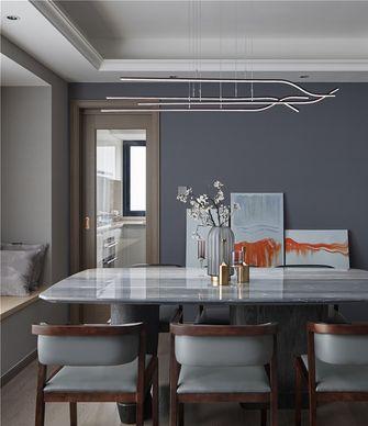 豪华型140平米四现代简约风格餐厅设计图