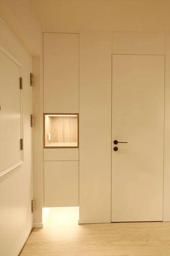 经济型50平米三室三厅现代简约风格玄关效果图