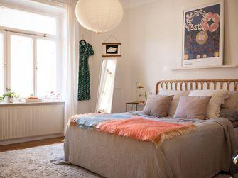 经济型一室一厅田园风格卧室效果图