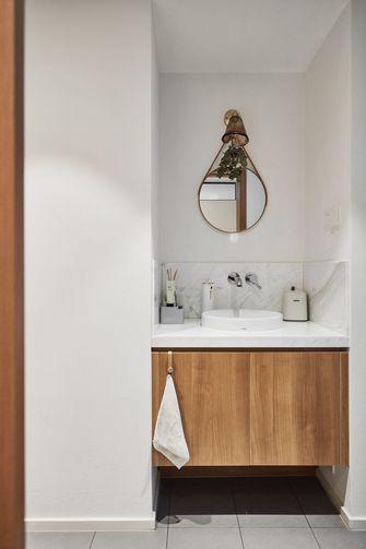 5-10万60平米三室两厅日式风格卫生间装修效果图