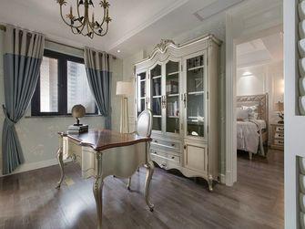 20万以上140平米四室两厅美式风格书房图