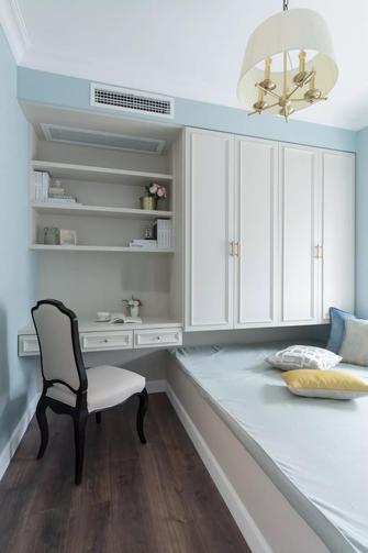 140平米三室两厅美式风格卧室欣赏图