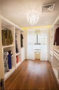 5-10万100平米三室一厅美式风格衣帽间设计图