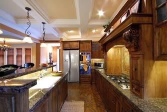 140平米别墅欧式风格厨房设计图
