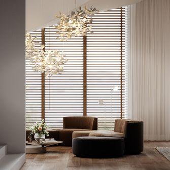 20万以上140平米三室两厅轻奢风格其他区域效果图