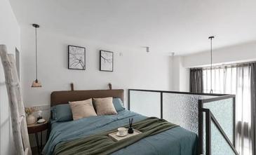 经济型30平米以下超小户型北欧风格卧室图片