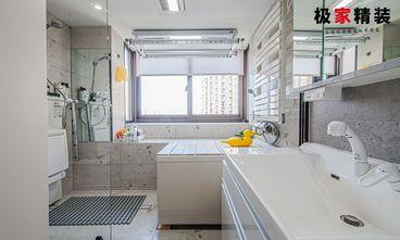 富裕型90平米三室三厅现代简约风格客厅装修效果图