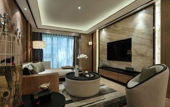 130平米四室一厅中式风格客厅设计图