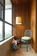 豪华型110平米三室一厅美式风格阳台欣赏图