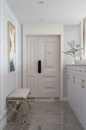 130平米三室一厅美式风格玄关设计图