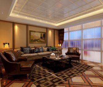 豪华型140平米别墅欧式风格客厅图片