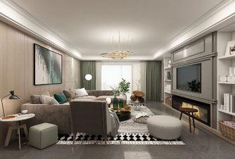 经济型130平米三室一厅轻奢风格客厅图片