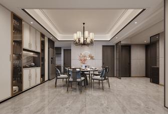 豪华型140平米四室三厅中式风格餐厅图