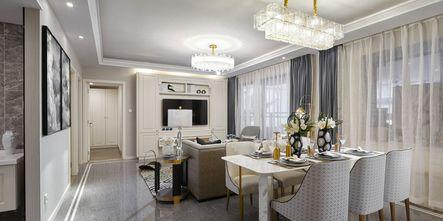豪华型140平米四室一厅法式风格餐厅欣赏图