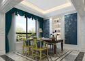 豪华型140平米别墅法式风格书房设计图