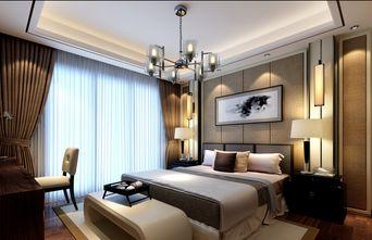 20万以上140平米四中式风格卧室欣赏图