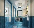 140平米四室两厅地中海风格卫生间设计图