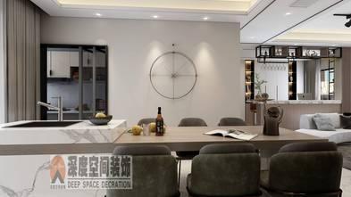 富裕型140平米四室三厅现代简约风格餐厅图片
