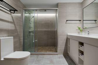 10-15万130平米三室两厅现代简约风格卫生间欣赏图