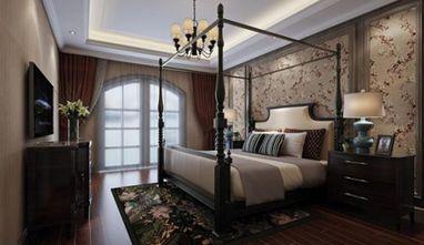 豪华型140平米美式风格卧室图片大全