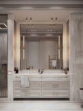 豪华型140平米四室两厅欧式风格卫生间装修效果图