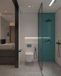 富裕型120平米三室两厅北欧风格卫生间图片
