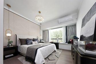 豪华型110平米三室一厅中式风格卧室图片