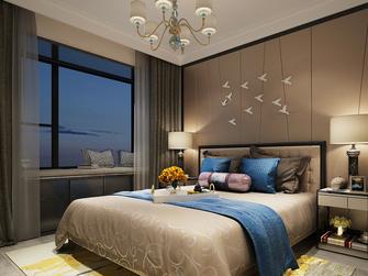5-10万80平米复式现代简约风格卧室装修效果图