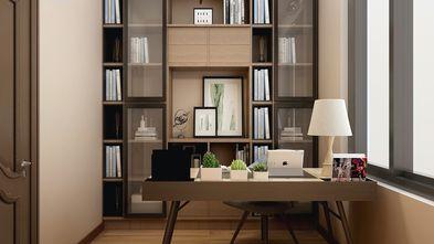 豪华型140平米三室两厅美式风格书房装修图片大全