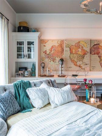10-15万120平米三室一厅法式风格卧室欣赏图