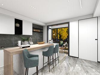 60平米公寓轻奢风格餐厅图