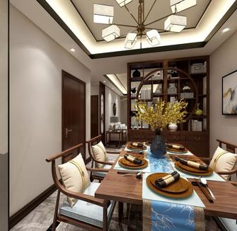 15-20万三室两厅中式风格餐厅效果图