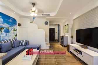 富裕型90平米新古典风格客厅图片大全