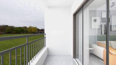 80平米中式风格阳台图