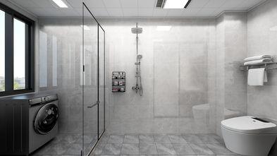5-10万80平米三室一厅轻奢风格卫生间欣赏图