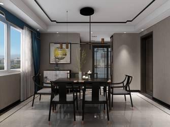 120平米四室四厅中式风格餐厅图