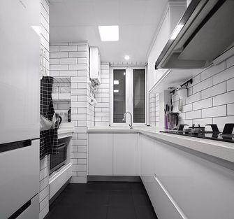 80平米现代简约风格厨房装修案例