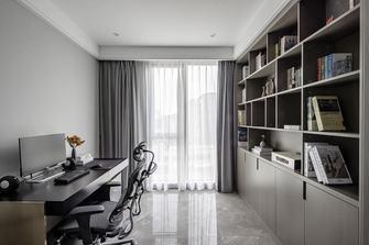 20万以上140平米三室一厅现代简约风格书房图片大全