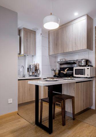 经济型60平米三日式风格厨房欣赏图