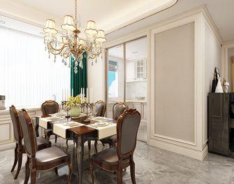 140平米四美式风格餐厅设计图