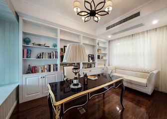 富裕型140平米四新古典风格书房装修图片大全