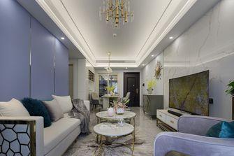 100平米三混搭风格客厅设计图