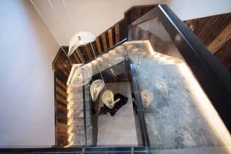 20万以上140平米别墅北欧风格楼梯间效果图