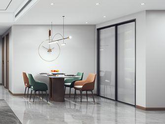 110平米三室两厅现代简约风格餐厅装修案例