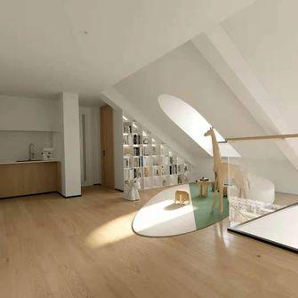 经济型80平米日式风格阁楼图