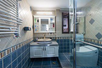 140平米四室三厅美式风格卫生间欣赏图