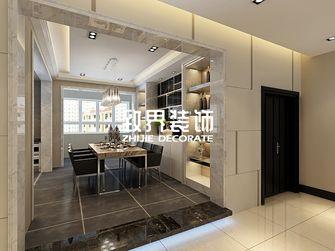 140平米三室两厅港式风格餐厅装修图片大全