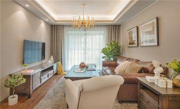 5-10万80平米美式风格客厅设计图